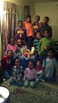 Jamal w/nieces and nephews